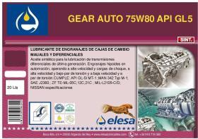 ELESA E100721 - BIDON ACEITE 75W80 50-L