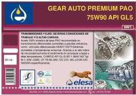 ELESA E75W9025L - GARRAFA ACEITE SAE-140 5-L